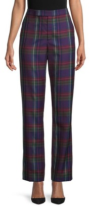 Ralph Lauren Seth Wool Plaid Pants