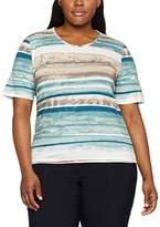Via Appia Women's Rundhals 1/2 Arm Druck T-Shirt