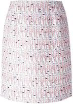 Giambattista Valli tweed skirt - women - Cotton/Viscose/Polyamide/Silk - 42