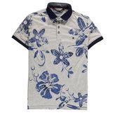 Mish Mash Peroni Floral Print Polo Shirt