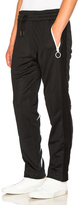 Off-White Diag Brushed Trackpants in Black.