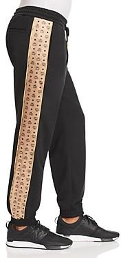 MCM Logo Stripe Sweatpants