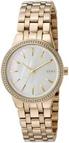 DKNY Women's 'Park Slope' Quartz Stainless Steel Casual Watch, Color:Gold-Toned (Model: NY2572)