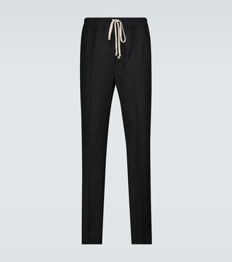 Rick Owens Astaires drawstring slim-fit pants