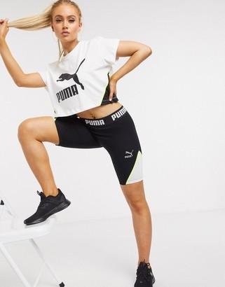 Puma legging shorts in black