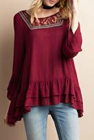 Easel Sugarplum Tunic