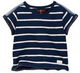 7 For All Mankind Cropped Tee (Little Girls)