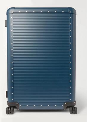 FPM Milano Spinner 84cm Aluminium Suitcase - Men - Blue