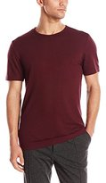 Vince Men's Pima Modal Colorblock Crew Neck Tee