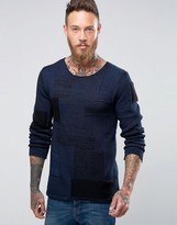 Nudie Jeans Nudie Dale Patched Jumper