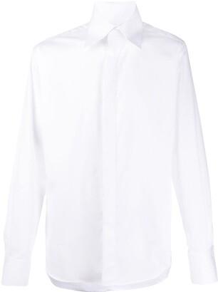 Karl Lagerfeld Paris Button-Front Shirt