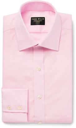 Emma Willis Slim-Fit Cotton Oxford Shirt - Men - Pink