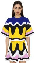 Emilio Pucci Patchwork Waves Milano Jersey Top