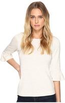 Three Dots 3/4 Sleeve Raglan Tee Women's T Shirt