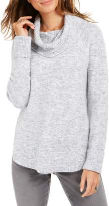 Style&Co. Style & Co. Petite Waffle Knit Cowl Neck Sweater