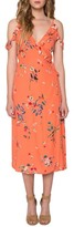 Willow & Clay Print Midi Dress