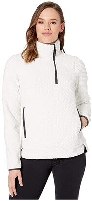 Helly Hansen Lyra 1/2 Zip (Off-White) Women's Clothing