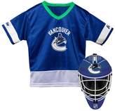 Franklin Sports Youth Franklin Vancouver Canucks Goalie Face Mask & Jersey Set