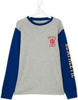 Ralph Lauren teen raglan T-shirt with print