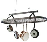 Enclume premier hammered steel pot racks