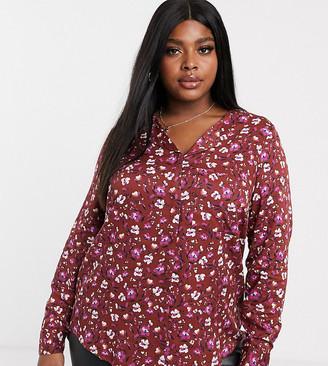 Junarose floral shirt