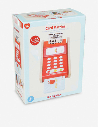 Le Toy Van Card Machine wooden toy
