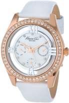 Kenneth Cole New York Women's KC2794 Transparency Multi-Function Floating Stone Dial Rose Watch