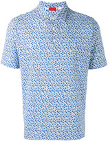 Isaia patterned shirt - men - Cotton - S
