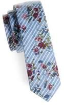 Original Penguin Hi Point Floral Tie