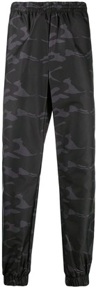 Hydrogen Camouflage-Print Track Trousers