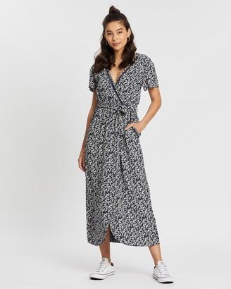 Volcom Little Ditsy Maxi Dress