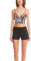 Clover Canyon Neoprene Crop Top