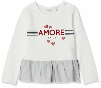 Ikks Junior Girl's Tee Shirt Ml Mariniere Amore T