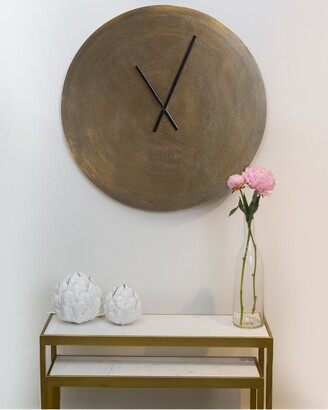 BIDKhome Aluminum Wall Clock