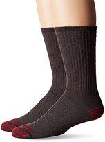 Timberland Men's 2 Pack Mid-Weight Merino Wool Crew Sock