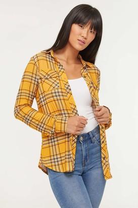 Ardene Plaid Super Soft Shirt