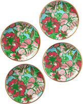 Lilly Pulitzer Set Of 4 Big Flirt Ceramic Coasters