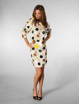 Karta Hex Print Drop Waist Dress in Hex