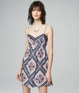 Prince & Fox Tile Print Babydoll Dress