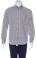 Eton Plaid Button-Up Shirt w/ Tags