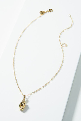 Viola Pendant Necklace By Sugar Blossom in Gold