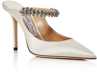Jimmy Choo Women's Bing 100 Embellished High-Heel Mules - 100% Exclusive