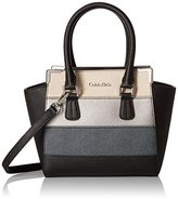 Calvin Klein on My Corner Saffiano Patchwork Mini Satchel
