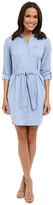 NYDJ Kaylin Chambray Shirt Dress