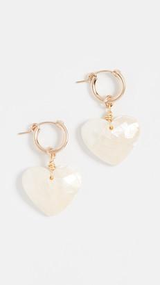 Brinker & Eliza Little Love Earrings