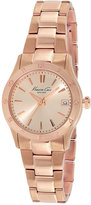 Kenneth Cole New York Watch, Women's Rose Gold-Tone Stainless Steel Bracelet 32mm KC4931