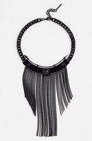 Vince Camuto Chain Fringe Collar Necklace