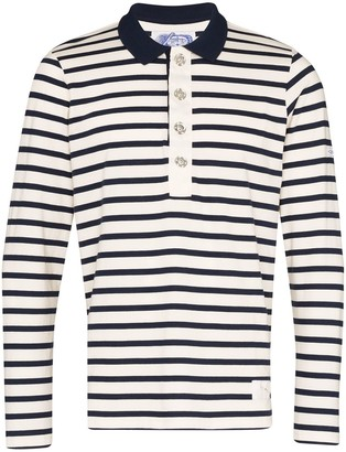 Linder Striped Cotton Rugby Shirt