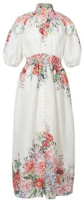 Zimmermann Shirred waist dress