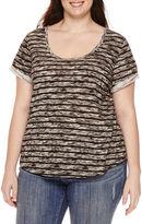 A.N.A a.n.a Relaxed Fit Boyfriend T-Shirt - Plus